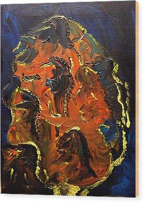 Metamorphosis Wood Print by Karen L Christophersen