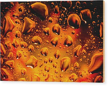 Meteor Diffusion Wood Print by Bruce Pritchett