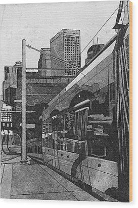 Metro Wood Print