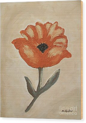 Mexican Flower Wood Print