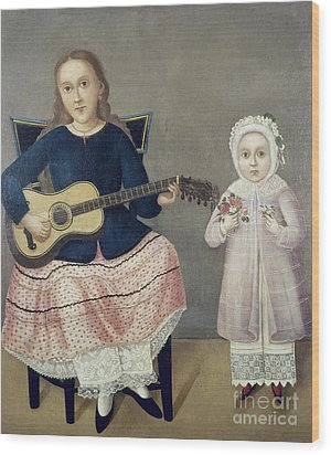 Mexico: Children, C1850 Wood Print by Granger