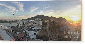 Wood Print featuring the photograph Mexico Memories 3 by Victor K