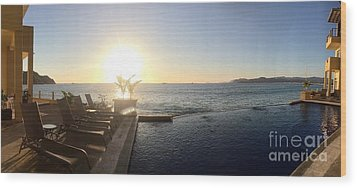 Wood Print featuring the photograph Mexico Memories 6 by Victor K