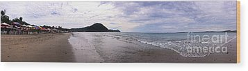 Wood Print featuring the photograph Mexico Memories 7 by Victor K