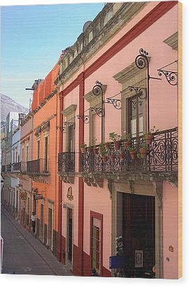 Wood Print featuring the photograph Mexico by Mary-Lee Sanders