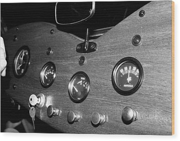 Mg Gauges Wood Print