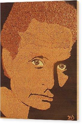 Michael Douglas Wood Print by Kovats Daniela