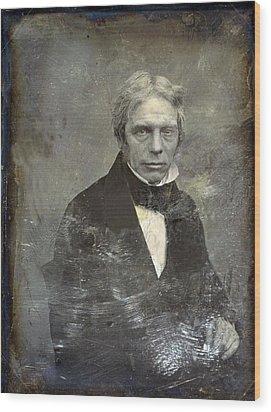 Michael Faraday 1791-1867 English Wood Print by Everett