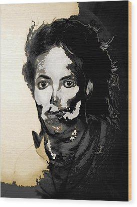 Michael J Wood Print by LeeAnn Alexander