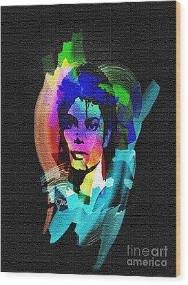 Michael Jackson Wood Print by Mo T