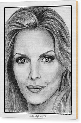 Michelle Pfeiffer In 2010 Wood Print by J McCombie