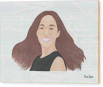 Michelle Phan Wood Print
