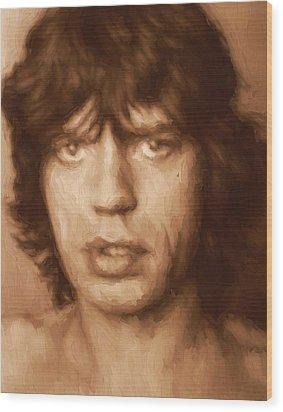 Mick Wood Print by Dan Sproul