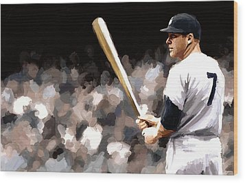 Mickey Mantle Signed Prints Available At Laartwork.com Coupon Code Kodak Wood Print