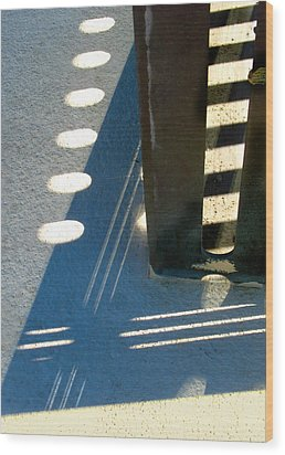 Mid Century Corner Wood Print