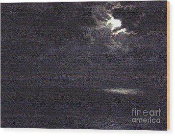Midnight Wood Print by Priscilla Richardson