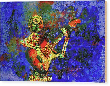 Midnight Serenade Wood Print by Jeff Gettis