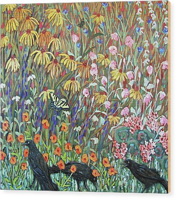 Midsummer Enchantment- Diptych Side B Wood Print