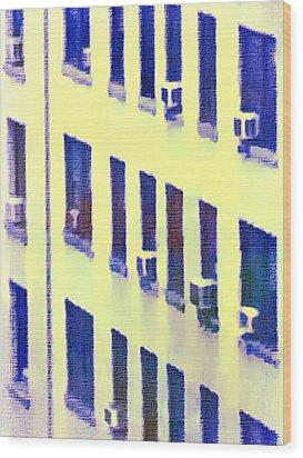 Midtown Manhattan Wood Print