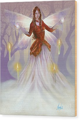 Midwinter Blessings Wood Print