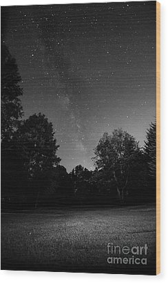 Wood Print featuring the photograph Milky Way by Brian Jones