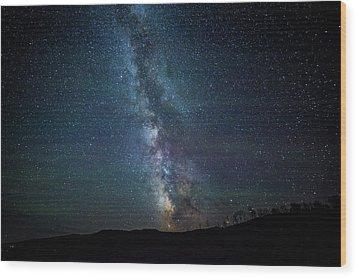 Milky Way Galaxy Wood Print by Dan Pearce