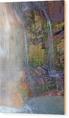 Mill Creek Falls 1 Wood Print