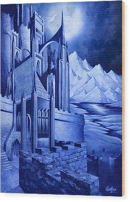 Minas Tirith Wood Print by Curtiss Shaffer