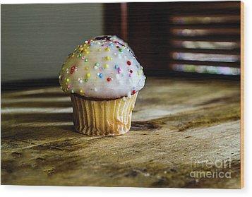 Mini Cupcakes 3 Wood Print