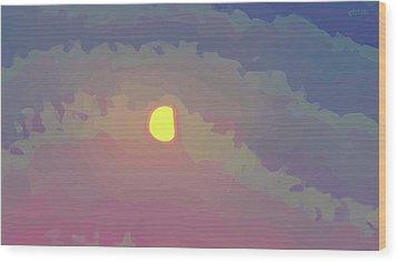 Mini Nocturne - Print 1 Wood Print