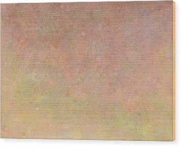 Wood Print featuring the painting Minimal 10 by James W Johnson