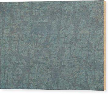 Minimal Number 3 Wood Print by James W Johnson
