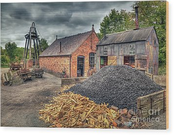 Wood Print featuring the photograph Mining Village by Adrian Evans