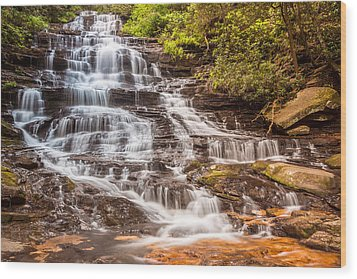 Minnehaha Falls Wood Print by Sussman Imaging