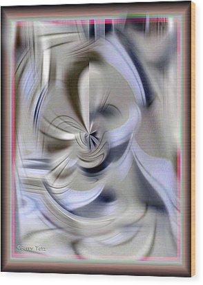 Mirror Wood Print