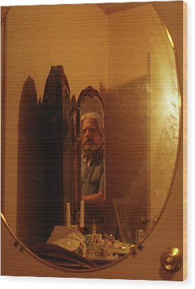 Mirror Mirror Wood Print by James Granberry