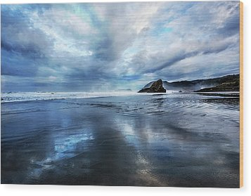Wood Print featuring the photograph Mirror Of Light by Debra and Dave Vanderlaan