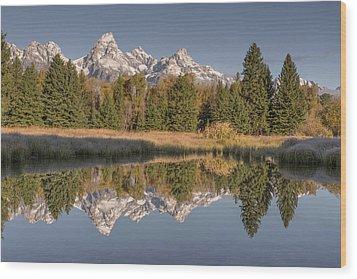 Mirrororrim Wood Print