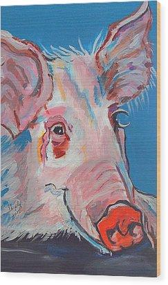 Miss Piggy Wood Print