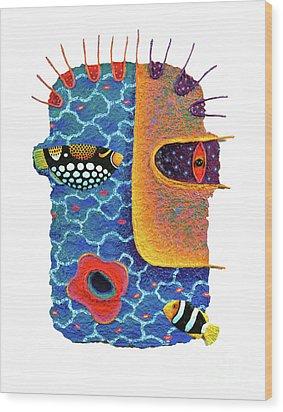 Missing The Sea Wood Print by Opas Chotiphantawanon