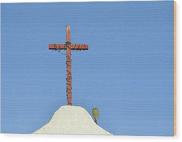 Mission San Antonio De Pala Wood Print