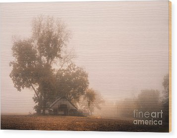 Missouri Bottoms Indian Summer Wood Print