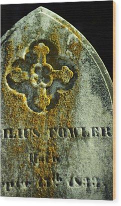 Mister Cyrilius Fowler Wood Print by Rebecca Sherman