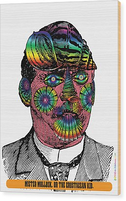 Mister Mollusk Wood Print by Eric Edelman