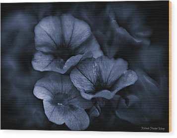 Wood Print featuring the photograph Misterious by Michaela Preston