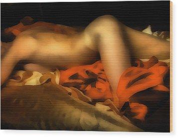 Mistress 2 Wood Print by Naman Imagery