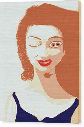 Mistress Of Duality Wood Print