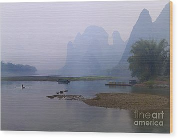 Misty Early Morning Wood Print by PuiYuen Ng