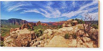 Wood Print featuring the photograph Mitten Ridge Beauty 1 by ABeautifulSky Photography