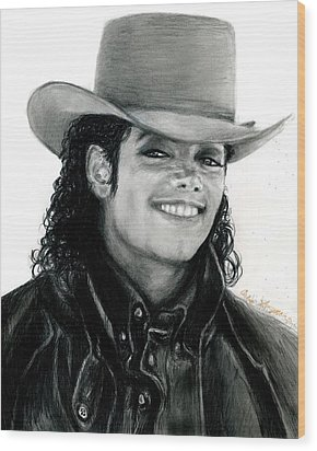 Mj Ranch Style Wood Print by Carliss Mora